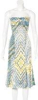 Just Cavalli Printed Bustier Dress w/ Tags
