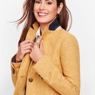 Talbots Shetland Wool Blazer - Mustard