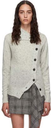 Isabel Marant Grey Cashmere Chass Cardigan