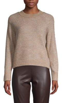 Only Franja Metallic Mockneck Sweater