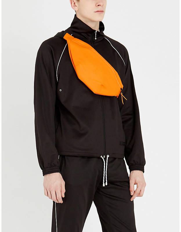 Sandro Track-style stretch-cotton jacket