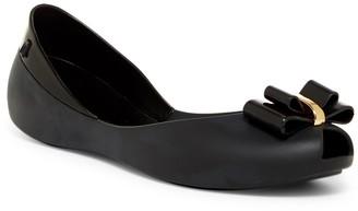 Melissa Queen V Peep Toe Flat