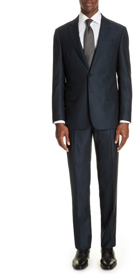 Emporio Armani G-Line Trim Fit Solid Wool Suit