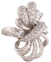 Ring Pave Ribbon