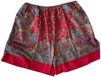 Carven Red Shorts for Women