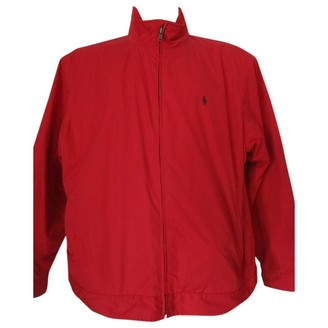 Polo Ralph Lauren Red Polyester Jackets