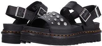 Dr. Martens Voss Stud (Black) Women's Shoes