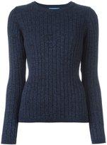 MiH Jeans 'Moonstone' ribbed knit jumper