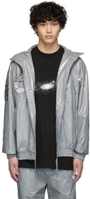 ADER error Grey Pocket Detail Jacket