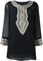 Steffen Schraut sheer sleeves tunic