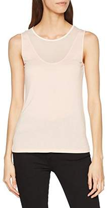 Sisley Women's Tank-top Vest, (Black 100), Medium