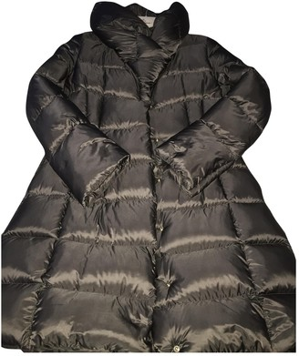 Moncler Anthracite Coat for Women