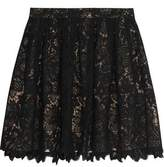 Joie Meray Guipure Lace Mini Skirt