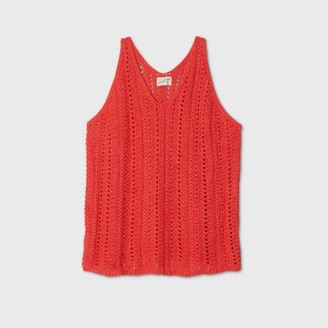 Universal Thread Women's Plus Size V-Neck Sweater Tank Top - Universal ThreadTM