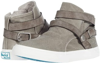 Blowfish Machiko (Wolf Grey Hipster Smoked Twill/Cecilia PU) Women's Shoes