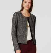 LOFT Petite Tweed Knit Jacket