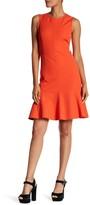 Derek Lam 10 Crosby Cutout Fit & Flare Dress