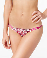 L'Agent by Agent Provocateur Kaity Floral-Embroidered Brief L125-38