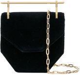M2Malletier Amor Fati Mini Velvet Shoulder Bag