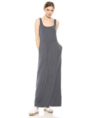 Amazon Brand - Daily Ritual Women's Jersey Sleeveless Empire-Waist Maxi Dress
