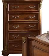Cavas 5 Drawer Chest Astoria Grand Color: Brown