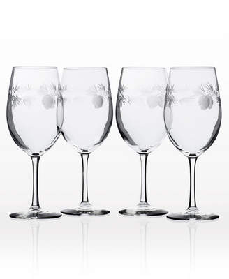 Rolf Glass Icy Pine All Purpose Wine Glass 18Oz - Set Of 4 Glasses