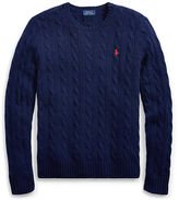 Polo Ralph Lauren Wool-Cashmere Crewneck Sweater
