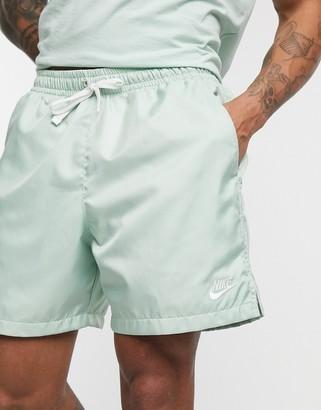 Nike Club woven shorts in dusty green