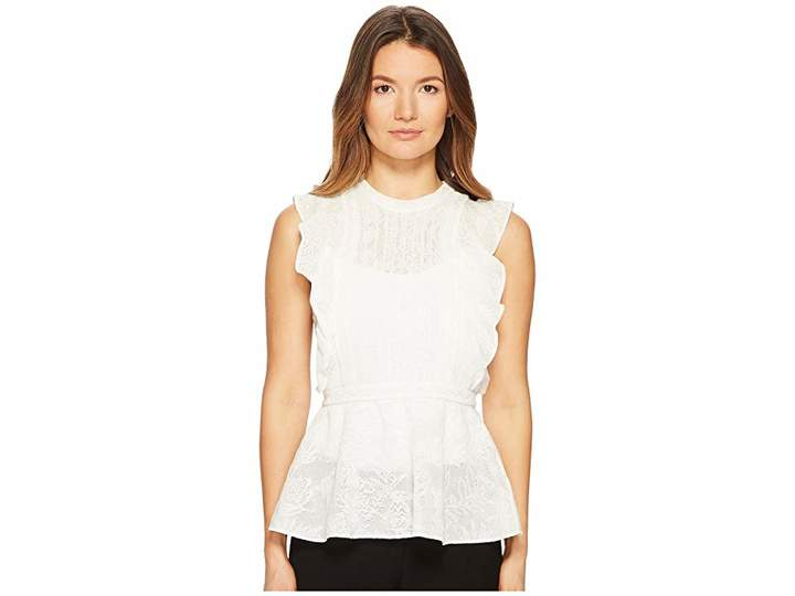M Missoni Ruffle Lace Top Women's Clothing