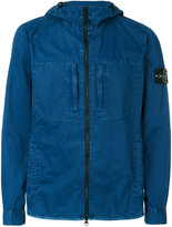 Stone Island hooded jacket - men - Cotton - M