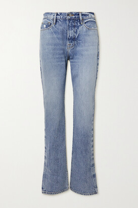 Frame Le Drew High-rise Straight-leg Jeans