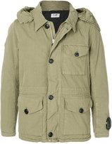 C.P. Company short hooded jacket
