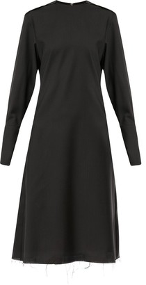 Yang Li Raw-Hem Shift Dress