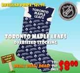 Hunter Toronto Maple Leaf Oversized Holiday Stocking