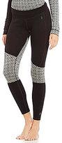 Smartwool Asymmetrical Geometric Merino Wool Baselayer Pants