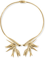 Noir Gold-plated choker