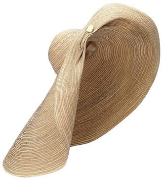Lola Hats Giga Spinner raffia hat