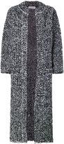 Sonia Rykiel long boucle coat - women - Polyamide/Mohair/Wool - S