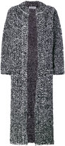 Sonia Rykiel long boucle coat - women - Polyamide/Mohair/Wool - XS