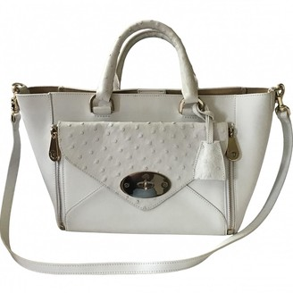 Mulberry Willow White Leather Handbags