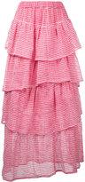 Tsumori Chisato layered maxi skirt
