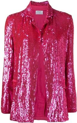 P.A.R.O.S.H. Gummy sequin blazer