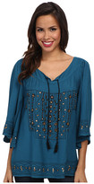 Scully Juanita Beautifully Embroidered Tunic