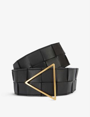 Bottega Veneta Intrecciato woven leather belt