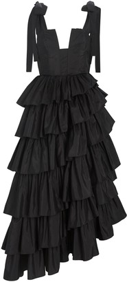 Ulla Johnson Valentina Ruffled Silk Taffeta Gown