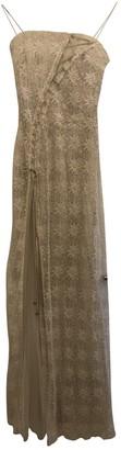 Jenny Packham Beige Silk Dresses