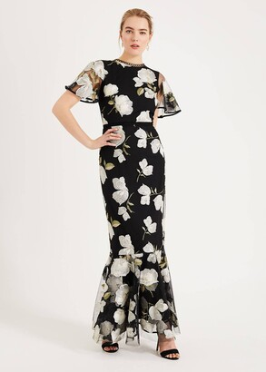 Phase Eight Christine Embroidered Maxi Dress