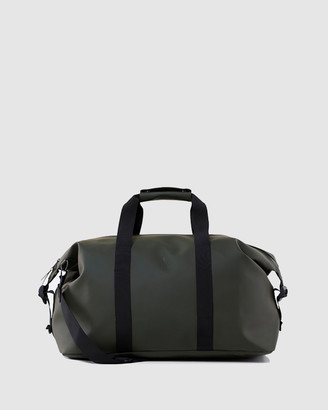 Rains Green Duffle Bags - Weekend Bag - Size One Size at The Iconic