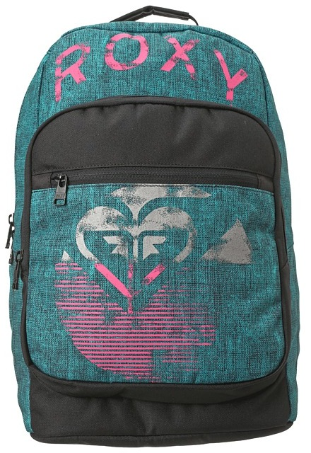 Roxy Grand Thoughts Backpack (Aquatic Blue) - Bags and Luggage