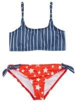 Billabong Seein' Stars & Stripes Two-Piece Swimsuit